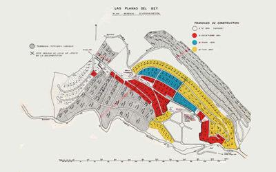 "Partial Plan of Property Development ""Las Planas del Rey"" on the Municipal territory of Pratdip."