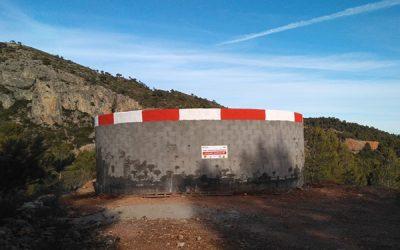 Notre conseiller municipal nous fait part de l'avancé de la rénovation du réservoir d'eau