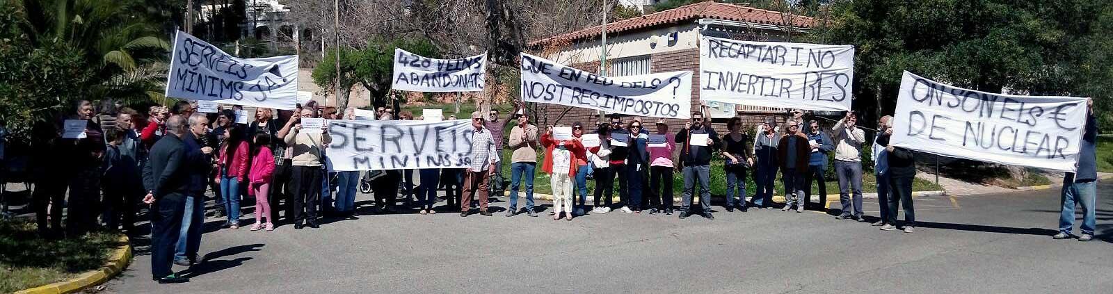 Manifestation Pratdip Catalogne