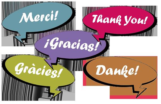 Chers voisins de la municipalité de Pratdip, Merci!