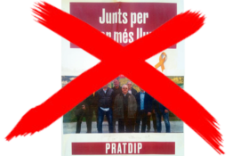 """SOS-Planas appelle à voter """"Avança Pratdip"""" et à faire barrage à """"Junts per Catalunya""""."""